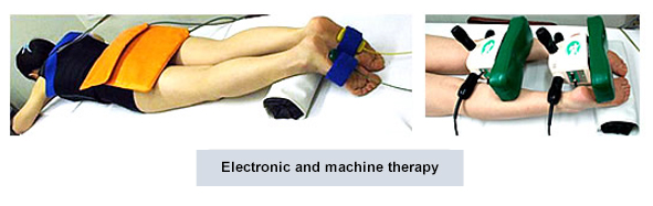 Electronic and machine therapy
